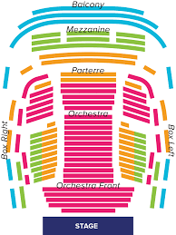 Denver Performing Arts Center Seating Chart Bright Denver Performing Arts Seating Chart Buell Theater