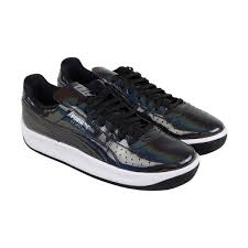 puma gv special iridescent mens black patent leather sneakers shoes