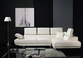 leather sectional living room furniture. Divani Casa T60 \u2013 Modern Leather Sectional Sofa Living Room Furniture I