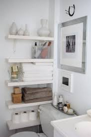 Oval Floating Shelves New Floating Bathroom Shelves Contemporary Bathroom The Order Obsessed
