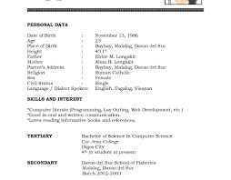 Sample Student Resume Templates Fascinating High School Template
