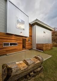 40 MetalClad Contemporary Homes Design Milk Interesting Modern Exterior Cladding Panels Concept Property