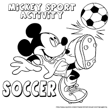 Sports Coloring Pages disney sports coloring pages – Kids Coloring Pages