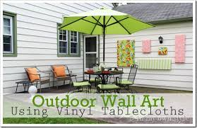 Small Picture Beautiful Outdoor Wall Decorating Ideas Photos Home Design Ideas