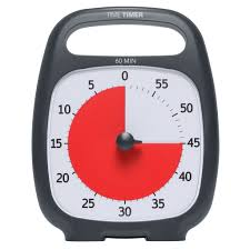 Minute Timers Time Timer Plus 60 Minute Timer Timers Red Disc Timer Special Needs