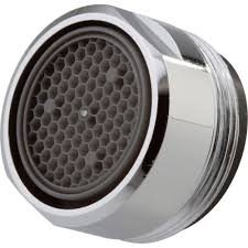 bathroom faucet aerator assembly. delta 2.2 gpm aerator with 15/16 in. -27 male thread in chrome bathroom faucet assembly e