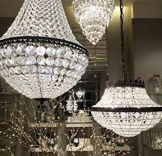 pottery barn dalila chandelier 14 beaded crystal pendant light dalia daliah