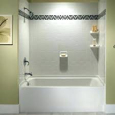 how to install a bathtub surround replace shower surround bedroom white tub shower tile ideas installing