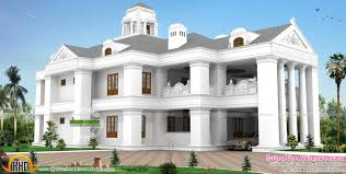 luxury house plans kerala fresh colonial model luxurious home kerala home design and floor plans