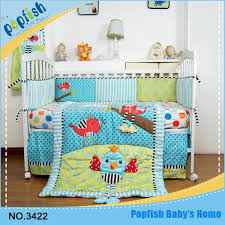 lovely embroidery baby bedding birds paradise crib bedding set girls bedding cotton 3d embroidered kids bed set boys quilt bedding sets kids sports bedding