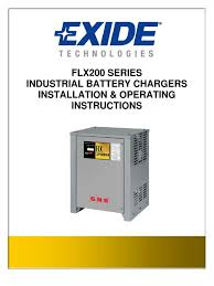 cargador gnb flx battery charger mains electricity