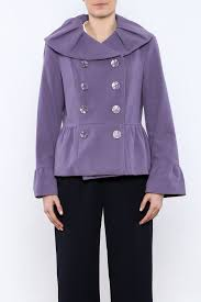 insight nyc lavender peacoat side cropped image