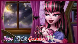 Monster Baby Feeding - Monster High Baby Games for Little Girls and ...