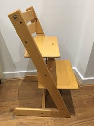 stokke tripp trapp high chair in ney london gumtree stokke tripp trapp high chair image 1 of 3