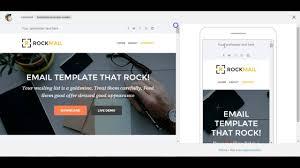 Mailchimp Responsive Design Template Custom Mailchimp Responsive Email Template Rockmail