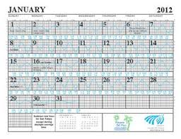2012 Tide Charts By Rocky Point Services Issuu