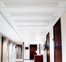 ceiling acoustic panel plaster perforated mercial gyptone base 33 e15