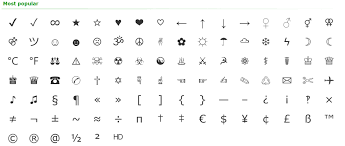 Copy and paste symbols and emojis on the symbol keyboard to smartphone, tablet, or pc with one click. Symbols Characters Easy Copy Paste