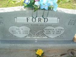 Iva Dot Calvert Ford (1920-2001) - Find A Grave Memorial