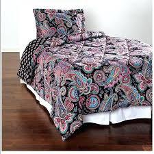 vera bradley bed set sateen comforter in paisley twin comforters