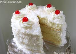 Piña Colada Cake Recipe From Scratch My Cake School