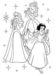 Disney Princess Coloring Pages Justgetlinkinfo