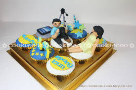 Cookiecoo Birthday Cupcakes For Boyfriend Akang