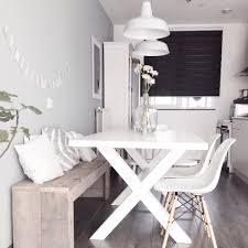 White Bench For Kitchen Table 7 Genius Ways To Design A Small Space Good Housekeeping