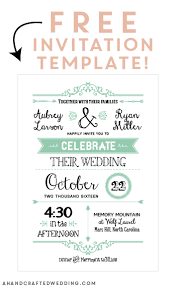 free photo invitation templates free wedding invitation template free printable wedding