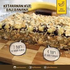 Bali Banana Cake Halal Food Trace