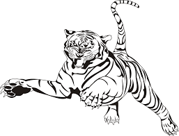 Small Picture Tiger Coloring Page Printable anfukco