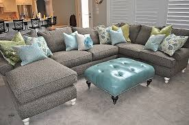 Lovely Slate Grey Sectional sofa tuberculosisforumcom