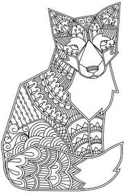 To Print This Free Coloring Page Coloring Adult Fox Click On The