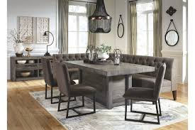 Tripton Corner Dining Room Bench Ashley Furniture Homestore