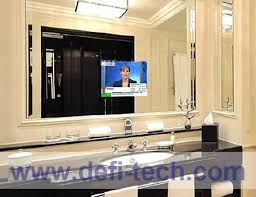 MIRROR TV GLASS Magic advertising display mirror Interactive