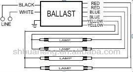 fluorescent light ballast wiring diagram fluorescent fluorescent light ballast wiring diagram wiring diagram and hernes on fluorescent light ballast wiring diagram