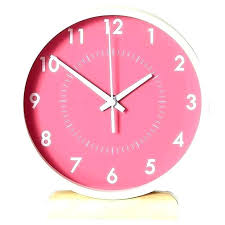 large wall clocks target clock at excellent modern pink and white digital oversized