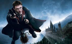Wallpaper Flying In The Sky Of Harry Potter 2560x1600 Hd