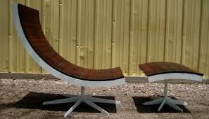 Creative of Metal And Wood Outdoor Furniture Modern Metal And Wood