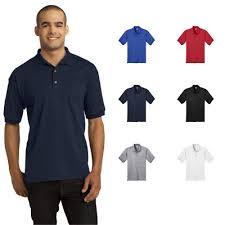 Gildan <b>Mens</b> DryBlend 6-Ounce Jersey <b>Knit</b> Sport Shirt <b>T</b>-<b>Shirts</b>