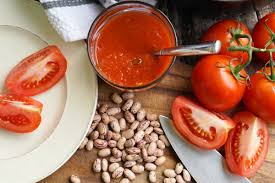 Image result for beans and tomato picture
