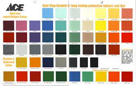Rust Oleum American Accents Color Chart Rustoleum Oil Based Paint Color Chart Www