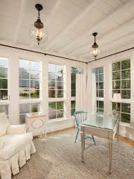sunroom lighting. example of a classic home office design in salt lake city with white walls sunroom lighting houzz