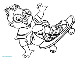 alvin and the chipmunks pictures to colour refrence alvin and the chipmunks coloring pages printable