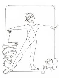 Gymnastics Coloring Sheets Coloring Pages For Kids Gymnastics Sport Of