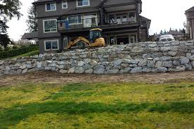 natural rock boulder wall mission maple ridge coquitlam abbotsford and langley bc