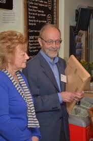 Hilary Lawrence leaving presentation - Buxton Civic Association