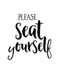 please seat yourself sign bathroom sign bathroom wall art funny bathroom art bathroom decor fun