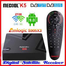 <b>Mecool K5</b> Android Box DVB S2 <b>DVB T2</b> Amlogic S905X3 Android ...