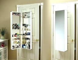 hanging mirror jewelry armoire jewelry door mirror cabinet jewelry over the door s wall hanging mirror